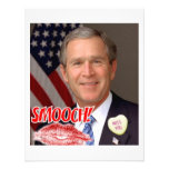 George Bush Valentine's Day Announcements