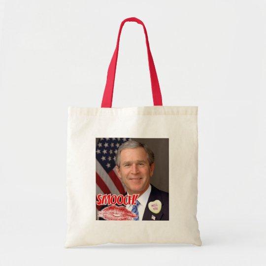 George Bush Valentine's Day Tote Bag