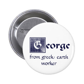 George Pinback Buttons