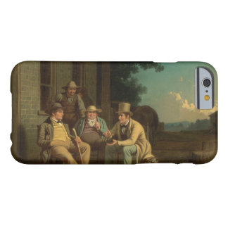 George Caleb Bingham - Canvassing for a Vote Barely There iPhone 6 Case