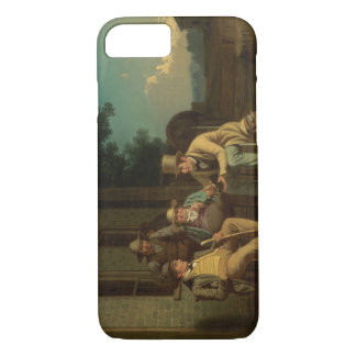 George Caleb Bingham - Canvassing for a Vote iPhone 7 Case