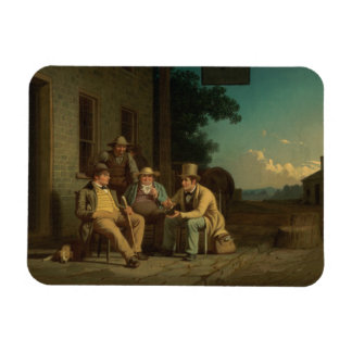 George Caleb Bingham - Canvassing for a Vote Magnet