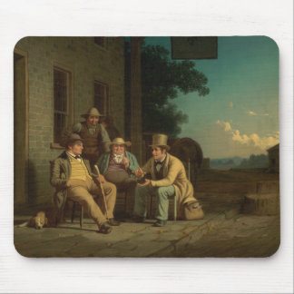George Caleb Bingham - Canvassing for a Vote Mouse Pad