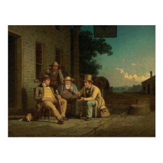 George Caleb Bingham - Canvassing for a Vote Postcard