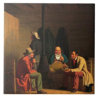 George Caleb Bingham - Country Politician Ceramic Tile