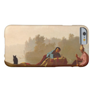 George Caleb Bingham - Fur Traders Descending Barely There iPhone 6 Case