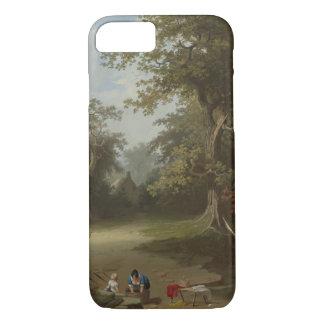 George Caleb Bingham - Landscape, Rural Scene iPhone 7 Case