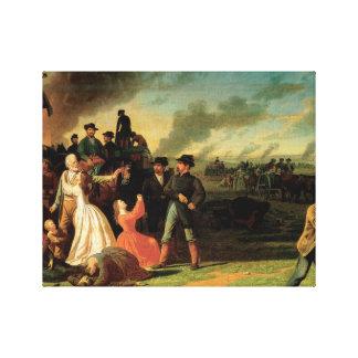 George Caleb Bingham - Order No. 11 Canvas Print