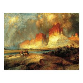 George Catlin - Cliffs of the Upper Colorado Postcard