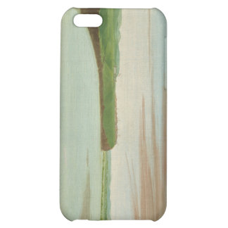 George Catlin - Distant View of the Mandan Village iPhone 5C Cases