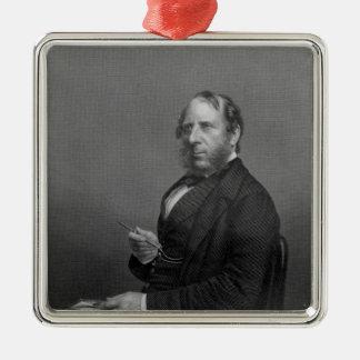 George Cruikshank Esq Metal Ornament
