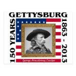 George Custer - 150o aniversario Gettysburg Tarjetas Postales