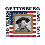 George Custer - 150th Anniversary Gettysburg Postcards