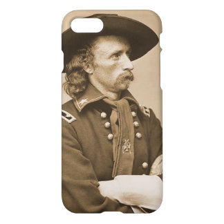 George Custer Vintage Military War Portrait iPhone 8/7 Case
