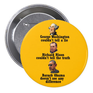 George, Dick & Big Brother Pinback Button
