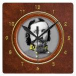 "George E. Pickett 10,75"" Relojes De Pared"