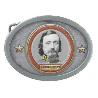 George Edward Pickett Hebilla Cinturon Oval
