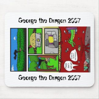 George el dragón mousepad