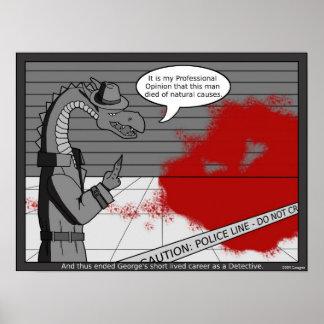George el dragón póster