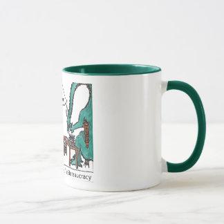 George el dragón taza