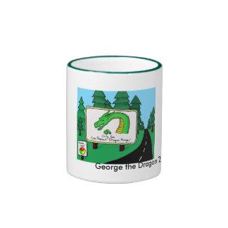 George el dragón taza a dos colores