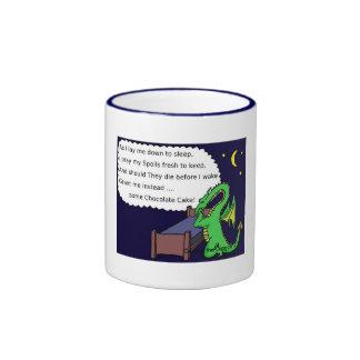 George el dragón tazas de café