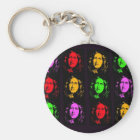 George Eliot Collage Keychain
