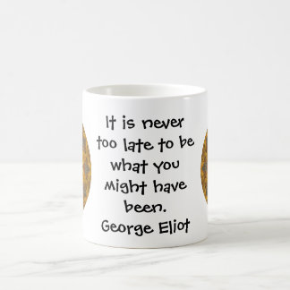 George Eliot Inspirational Motivational Quotation Coffee Mugs