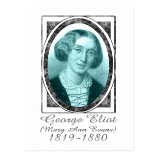 George Eliot Postcard