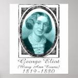 George Eliot Print