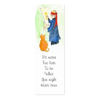 George Eliot Quote Bookmark profilecard