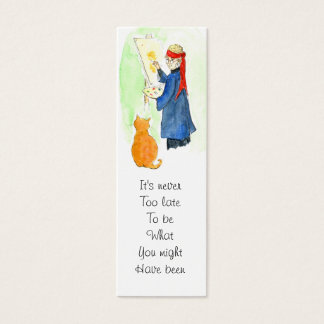George Eliot Quote Bookmark Mini Business Card