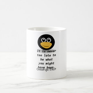 George Eliot quote Coffee Mug