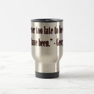 George Eliot Quote Travel Mug