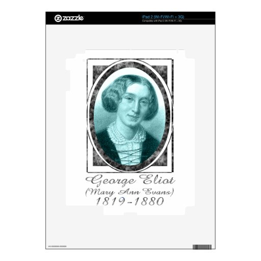 George Eliot Decal For iPad 2