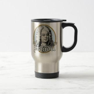 George F. Handel Travel Mug