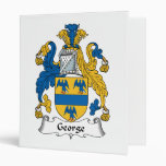 George Family Crest Binders