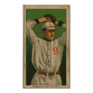 George Ferguson, palomas de Boston Póster