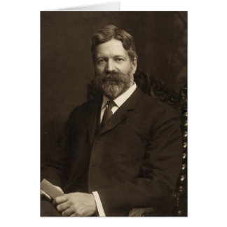 George Foster Peabody by the Pach Brothers Card
