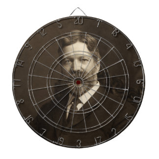 George Foster Peabody by the Pach Brothers Dartboard With Darts