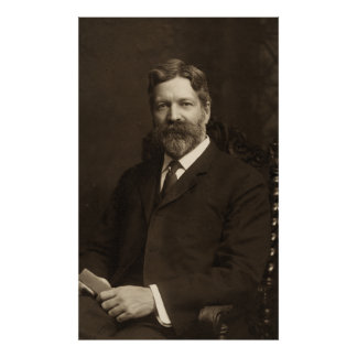 George Foster Peabody by the Pach Brothers Poster