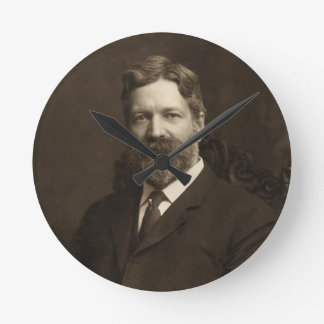George Foster Peabody by the Pach Brothers Round Clock