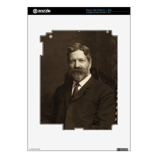 George Foster Peabody by the Pach Brothers Skins For The iPad 2