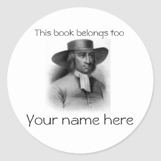 George Fox Book Plate Stickers