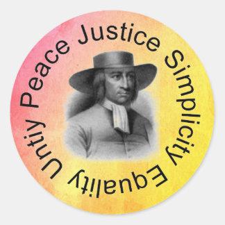 George Fox Sticker