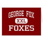 George Fox - zorros - centro - Pasadena Maryland Tarjetas