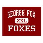 George Fox - zorros - centro - Pasadena Maryland Postal