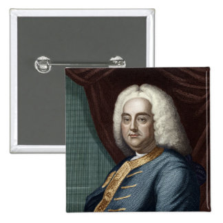 George Frederic Handel, engraved by Thomson Button
