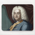 George Frederic Handel, engraved by Thomson Mouse Pad