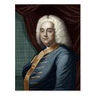 George Frederic Handel, engraved by Thomson Postcard